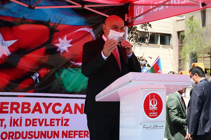 Mayor Altınok: We stand by Azerbaijan with all our means
